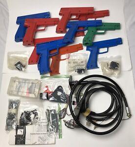 HUGE Arcade Game Suzo Happ Gun Lot Parts & Repair Light Gun Area 51 LOOK!!!