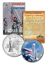 * 12th Anniversary * World Trade Center 9/11 US MINT NEW YORK STATE QUARTER COIN