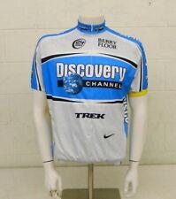 Nike Trek Discovery Channel 3/4-Zip Cycling Bike Jersey Men's Large NEW $99