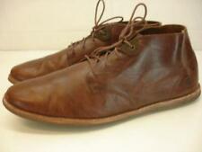 Timberland Men's sz 9 M Revenia Plain Toe Chukka Shoes Ankle Boots Brown Leather