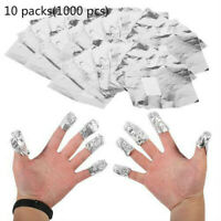 10 Packs Aluminium Foil Nail Art Soak off Gel Polish Remover Manicure Nails Tool