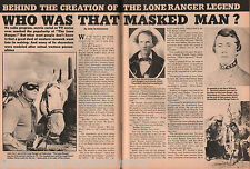 Who Was Behind That Masked Man? - The Lone Ranger