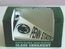 """Old World Christmas """"Penn State Pennant"""" Glass Ornament"""