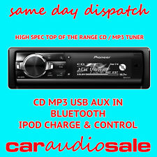 PIONEER DEH-80PRS CD MP3 AUXiN USB SD CARD & BLUETOOTH - NEXT DAY DELIVERY