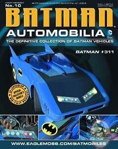 Dc Batman Automobilia Figurine Magazine #10 Batman #311 Eaglemoss