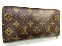 Louis Vuitton Porte Monnaie Zip Around Wallet Zippy Monogram 59423463