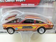 JOHNNY LIGHTNING - WARREN JOHNSON - 1972 CHEVY VEGA PRO STOCK DRAG CAR - DIECAST