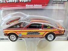 JOHNNY LIGHTNING - WARREN JOHNSON - 1972 CHEVY VEGA PRO STOCK DRAG CAR - DIECAST