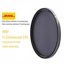 NiSi 82mm Ti Enhanced CPL Circular Polarizer Filter (Titanium Frame)