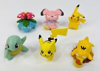 Pokemon Figures Tomy - small loose lot of 6 different figurines
