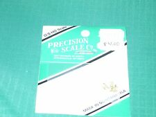 """Precision Scale Company (PSC) O/S/HO scale #48133 Clevis .120"""" long x.040"""" thick"""