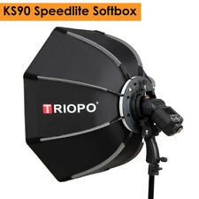 90cm Portable Outdoor Octagon Umbrella Softbox for Flash Speedlite TR-988 V860II