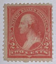 Travelstamps : 1894 US Stamps Scott #248 2cents,, Washington, Mint, Og, Hinged