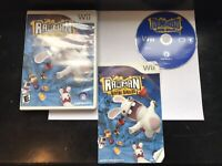 Rayman Raving Rabbids Nintendo Wii Game Complete Tested