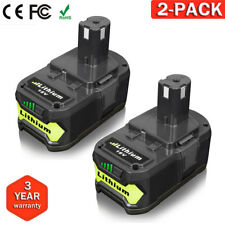 2 Pack New For P108 P104 Ryobi 18Volt 18V One Plus Lithium Ion Battery 4.0Ah AU