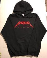 Metallica Brazilian Jiu-Jitsu Youth Hoodie Black Hooded Sweatshirt BJJ MMA UFC