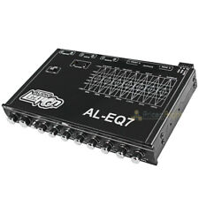 Audio Legion 7 Band Equalizer with Built-in Electronic Crossover Car Audio