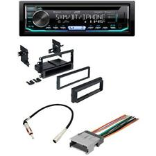 JVC Car Stereo CD Receiver Bluetooth+Dash KIT Harness Antenna for GM GMC Chevy