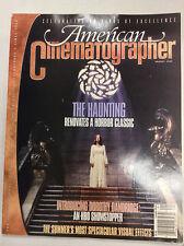 American Cinematographer Magazine The Haunting August 1999 040517nonr