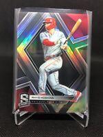 2019 Panini Chronicles Baseball Rhys Hoskins Spectra Base Philadelphia Phillies