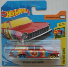 Hot Wheels 1964 Chevy Chevrolet Nova Station Wagon rot HW Art Cars Neu/OVP ´64
