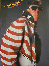 Vanilla Ice, Chesney Hawkes, Double Full Page Vintage Pinup