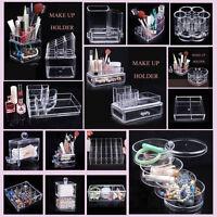 Make up Box Cosmetic Organizer Drawer Jewelry Holder Storage Case Clear Acrylic