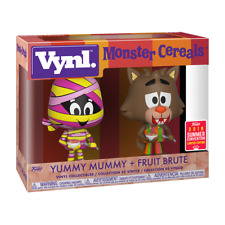 FUNKO VYNL YUMMY MUMMY & FRUIT BRUTE 2 PACK LIMITED EDITION NMIB