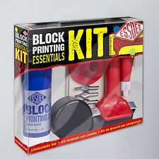 Starter Lino Cutting and Block Printing Kit by Eesdee