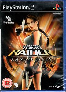 Lara Croft TOMB RAIDER Anniversary Collectors Edition Game PS2 NEW and SEALED!