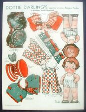 Dottie Darling Country Cousin Tommy Tucker Pictorial Review Paper Doll Cut Out