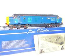 "Lima HO OO British Railways Class 37 ""DRS"" DIESEL LOCOMOTIVE Limited Edition MIB"