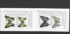 Sierra Leone the two Butterflies Mini Sheets  MINT NH
