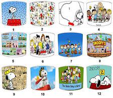 Peanuts & Snoopy Comic Paralumi,Ideale da Abbinare Biancheria Letto Set &