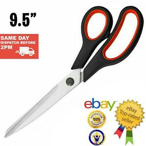 "9.5"" Stainless Steel Tailoring Scissors Dress Making Fabric All Multi Purpose"