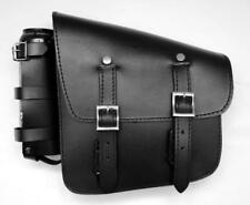 Lateral Saddlebag Leather with Reserve {Harley Softail, Fatboy, Breakout Volusia