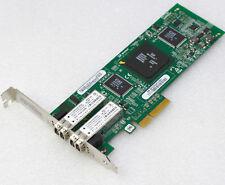 4GBit DUAL NETZWERKKARTE FIBRE CHANNEL PCI-E 1x4xQLE2462IBM IBM 339R6528 #NW6 MM