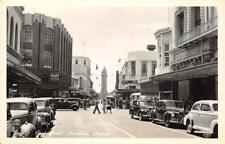 RPPC HONOLULU Fort Street Scene Hawaii Vintage ca 1940s Kodak Postcard