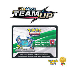 Sun & Moon Team Up (SM09) Online Booster Codes Cards for PTCGO Pokemon Online