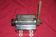 Old Mechanical Counter Silver King Production Instrument Co. Model No. ARS 10764