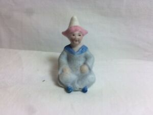 REALLY RARE ANTIQUE BISQUE CAKE DECORATION AS A 19th CENTURY CHINAMAN