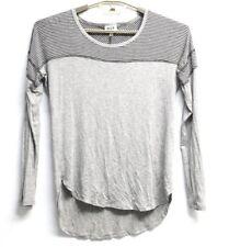 Women's H.I.P. 3/4 Sleeve T Shirt Grey Small