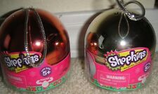 New 2 Shopkins Christmas 2015 METALLIC Ornament Limited Edition ToysRUs Excl