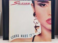 "Sa-Fire - Gonna Make It - Vinyl 12"" Single"