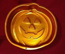 Wilton Orange Pumpkin Jack-O-Lantern Cake Pan Mold 2105-2059 ~ No Insert~