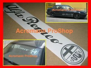 36inch 91.4cm Alfa Romeo windshield decal sticker GTA GTV spider 1300 giulietta