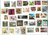 UK High Values Christmas & Commemorative stamps x 50, used (Batch 1)