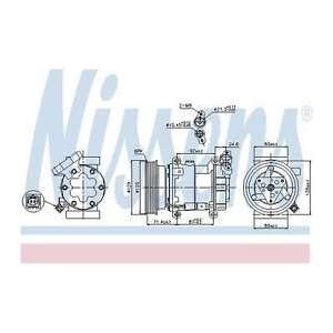 Fits Nissan Note E11 1.5 dCi Genuine OE Quality Nissens A/C Air Con Compressor