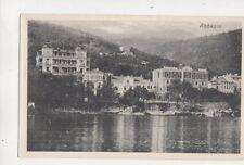 Abbazia Opatija Croatia Vintage Postcard 490b