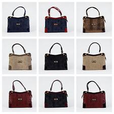 Damentaschen aus Kunstleder mit Außentasche (n) und Reißverschluss